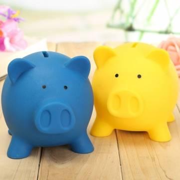 Pig Toy Saving Coins Money Cash Collectible Box Piggy Bank