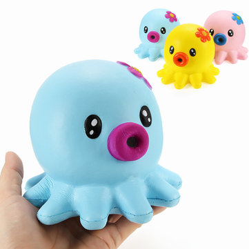 Squishy Octopus Jumbo 14cm Slow Rising Collectie Cadeau Decor Soft Squeeze Toy