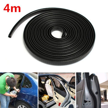 Black Trim Hollow Rubber Seal Strip Scratch Protector Guard For Car Boat Van