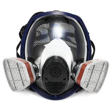 15 in 1 Facepiece Respirator Painting Spraying 3M 6800 Full Face Gas Mask