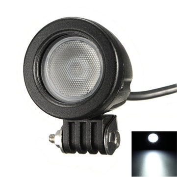 10W LED Work Light Flood Driving Spot Fog Lamp for Off Road Motorcycle 4WD UTE ATV