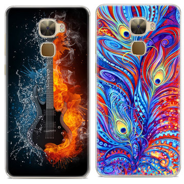 Printing Pattern Anti-Scratch Soft TPU Back Protective Case For LeTV Leeco Le Pro3