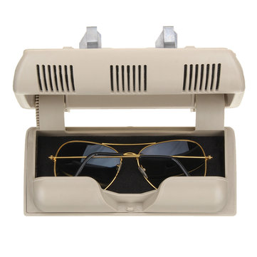 Car Glasses Box Holder Sunglasses Case Plastic Storage Box for Skoda Fabia Octavia Roomster
