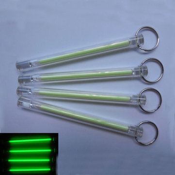 5x80mm Tritium Tube Self-luminous 15-Years Keychain Green