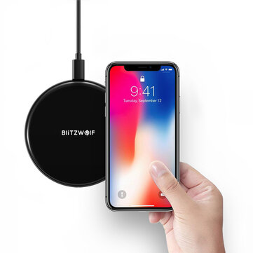 42% OFF For BlitzWolf BW-FWC3 5W Wireless Charger