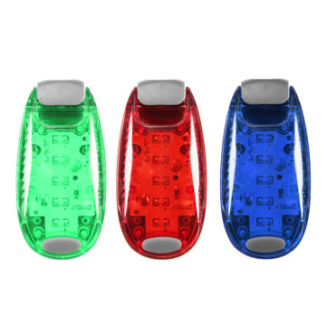 BIKIGHT Cycling Rear Tail Helmet Flashlight ABS 3 Modes Bike Safety Warning Lamp 5 LED