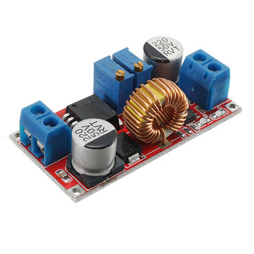 3pcs Output 1.25-36V 5A Constant Current Constant Voltage Lithium Battery Charger Step Down Power Supply Module LED Driver High Power Low Ripple High Efficiency Short Circuit Protection Function