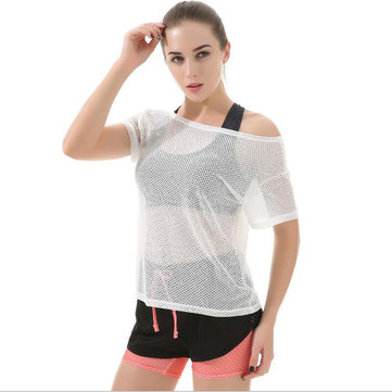 Outdoor Fitness Women's Shirt Sport Yoga