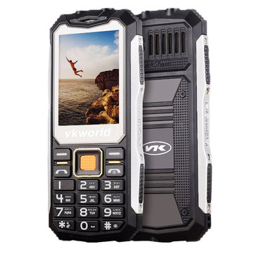 (Russian Keyboard) VKWORLD Stone V3S Waterproof Dual SIM 2200mAh feature Phone
