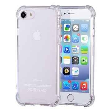 Bakeey Air Cushion Corner Anti Fingerprint Transparent Protective Case For iPhone 7/8