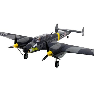 Dynam Messerschmitt BF-110 V2 1500mm Wingspan EPO Fighter Warbird RC Airplane PNP DY8963