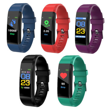 B05 Color Screen Smartwatch Waterproof Blood Pressure Monitoring Step Sport Smart Bracelet