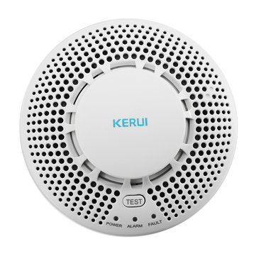 KERUI SD05 Wireless Smoke Detector Stable Fire Alarm Sensor Home Security System