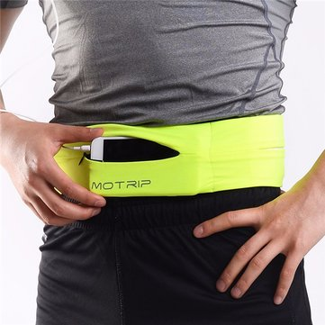 MOTRIP Running Waist Bag Sports Waist Belt Portable Phone Case for Smartphone under 6 inch