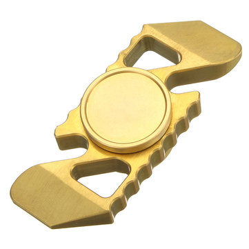 ECUBEE EDC Brass Fidget Spinner R188 Steel Ball Bearing Hand Spinner Gadget Finger Spinner
