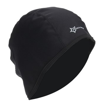 RockBros Men Cycling Cap Black Hat Fleece Thermal Winter Windproof Outdoor Sport