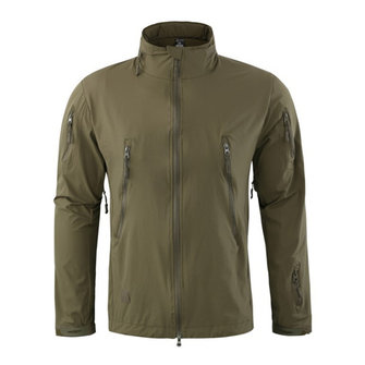 Mens Outdoor Thin Spring Autumn Soft Shell Tactical Training