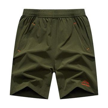 กางเกงขาสั้นกีฬาฤดูร้อนกางเกงขาสั้นสตรีทอีเอสทีเอวขนาดใหญ่กางเกงขาสั้นชายหาดสีชมพู