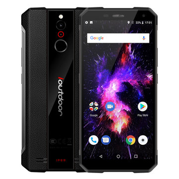 Global Стандартыs ioutdoor X 5.7 дюймов Android 8,1 IP68 NFC 6GB RAM 128GB ПЗУ Helio P23 2.5GHz Смартфон