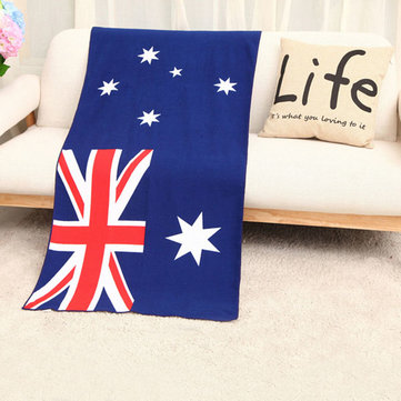 70x150cm Australian Flag Microfiber Soft Beach Towel Bath Swimming Washcloth Tablecloth