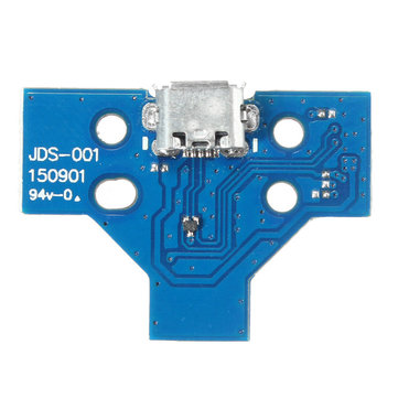 JDS-001 Micro USB Charging Socket Board for Playstation 4 Dualshock 4 Controller Gamepad