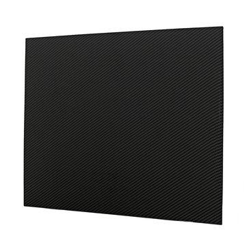 400x500x2mm Carbon Fiber Board Plate Sheet 3K Twill Weave High Gloss Vehicle Material