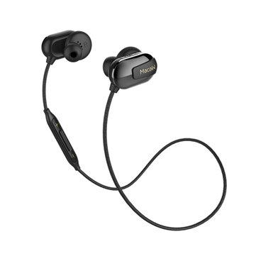 Macaw T50 In-ear Sport IPX5 Waterproof Multi-point Connection CSR4.1 HD Bluetooth Earphone With Mic