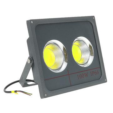 100W LED COB洪水光屋外防水IP66ガーデンスポットランプAC90-265V