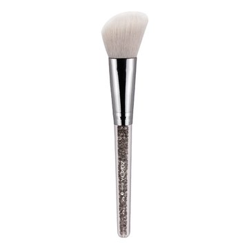 Zoreya White Silver Blush Blusher Brush Face Makeup Brushes Nylon Hair Comestic Tool