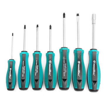 PENGGONG 8147 7Pcs Screwdrivers Set Home Repair Toolkit Screwdriver Repair Tools