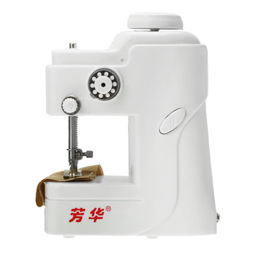 Drillpro DC 6V 988 Mini Hand Held Electric Sewing Machine Portable Knitting Seal Ring Machine