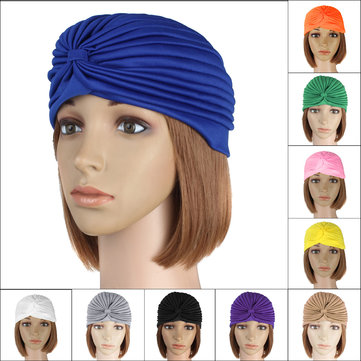 Delivery Mummy Puerperal Turban Chemo Costume Full Head Cover Wrap Hats Cap Hair Head Loss Scarf Warm Bandana