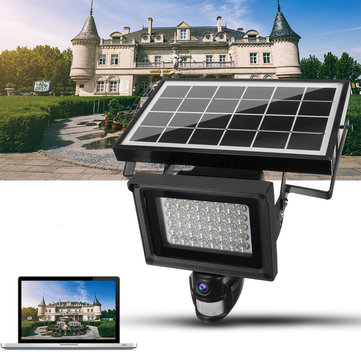 720P Waterproof Solar Power Camera Outdoor Security DVR Camera with Night Vision TF Card