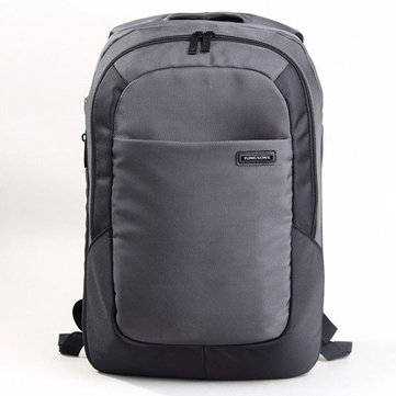 KINGSONS Men 15.6-inch Laptop Backpack Business Casual Daypack Schoolbag