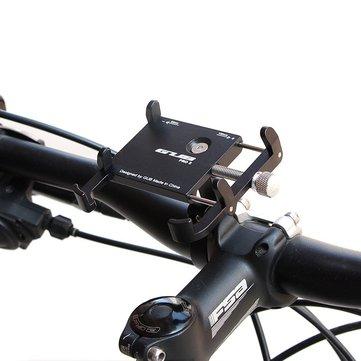 GUB PRO2 Metal Shockproof Anti-slip Bicycle Bike Holder Handlebar Mount for Cell Phone 3.5-6.2 inch