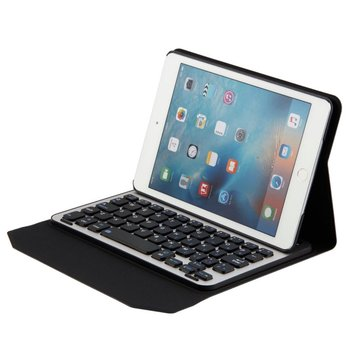 Bluetooth 3.0 Detachable Keyboard Kickstand Case For iPad Mini 4