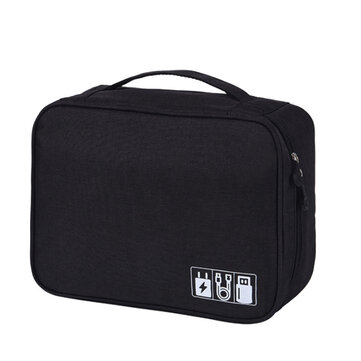 Multifunction Cable Bag Travel Digital Storage Bag Portable USB Charger Earphone Organizer