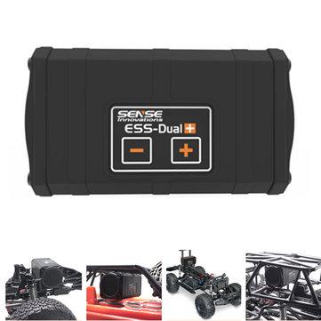 Sense Innovations ESS-DUAL 2 SPEAKERS Engine Sound Simulator For Axial SCX 10 II WRAITH Traxxas TRX4