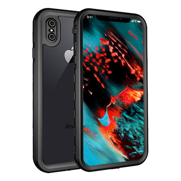 Bakeey IP68 Waterproof Case For iPhone XS/X Snowproof Dustproof Shockproof Full Body Cover