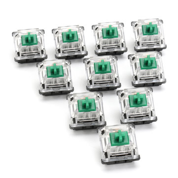 10PCS 3 Pin Green Switch for Mechanical Gaming Keyboard