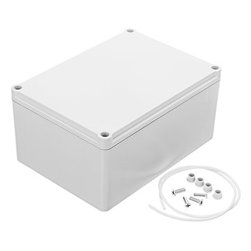 180 x 130 x 87mm DIY Plastic Monitor Waterproof Housing Electronic Junction Case Power Supply Box Sealed Instrument Case Lithium Battery Shell