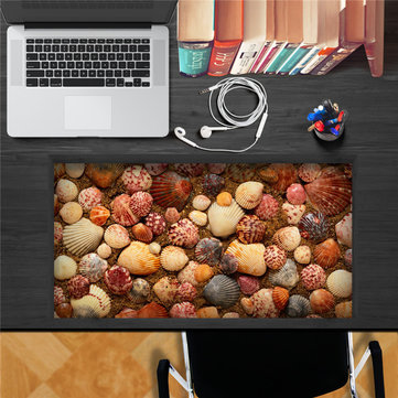 Colorful Shells PAG STICKER 3D Desk Sticker Wall Decals Home Wall Desk Table Decor
