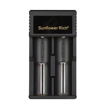 Sunflower Rich 988A USB Port Multifunctional Battery Charger For 18650 26650 AA AAA 2Slots