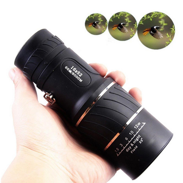 Outdoor HD Optical Monocular Telescope Clear Vision Viewing Lens For Camping Hiking Hunting