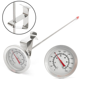 12 Inch Stainless Steel Homebrew Thermometer Probe Beer Food Temperature Measuring Wine Thermometer
