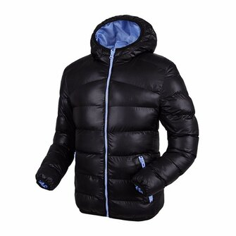 Men Winter Plus Thick Hooded Windproof Warm Fashion Contrast Color Lining Padded Jacket