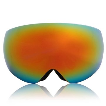 Winter Unisex Anti Fog Orange&Red Dual Len Motor Bike Racing Outdooors Snowboard Ski Goggles