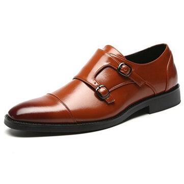 Men Elegant Business Formal Oxfords