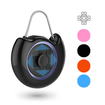 Keyless Password Intelligent Padlock Security USB Smart Travel Lock Suitcase Bag Cabinet 4 Colors