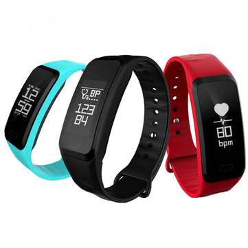 R1 Blood Pressure Heart Rate Sport Bluetooth Smart Wristband Bracelet For iPhone X 8 OnePlus 5